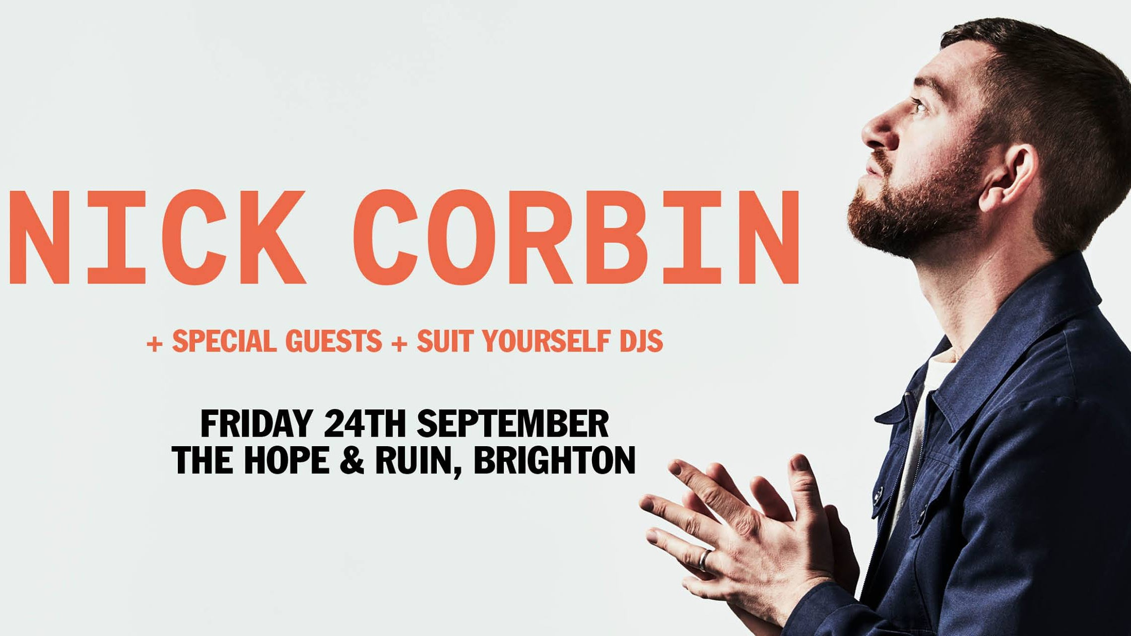 Nick Corbin (Full Band) + DJs