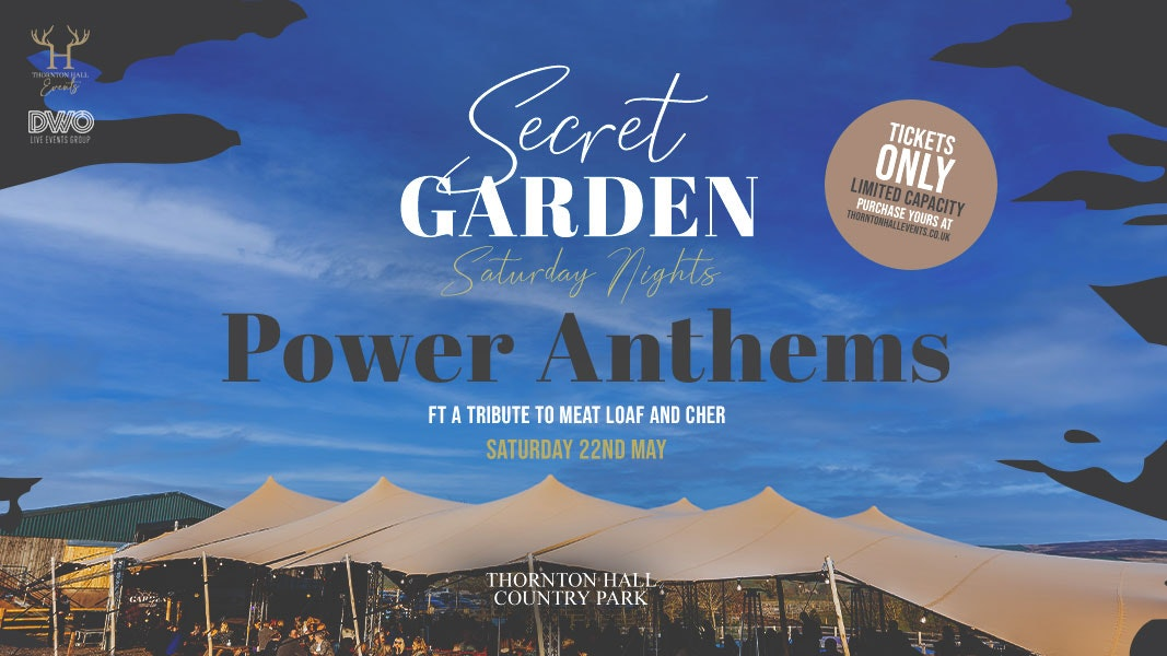 Secret Garden Saturday ft Tribute to Meat Loaf & Cher