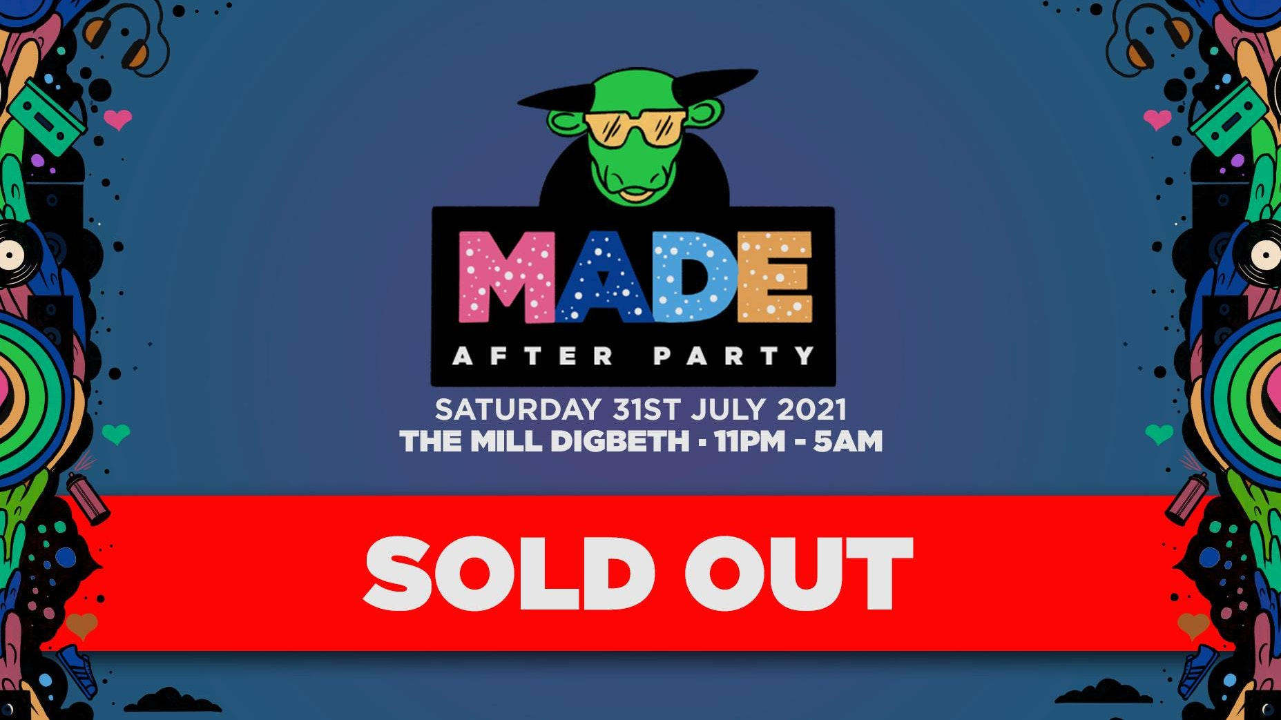 SOLD OUT : MADE Festival 2021 : After Party