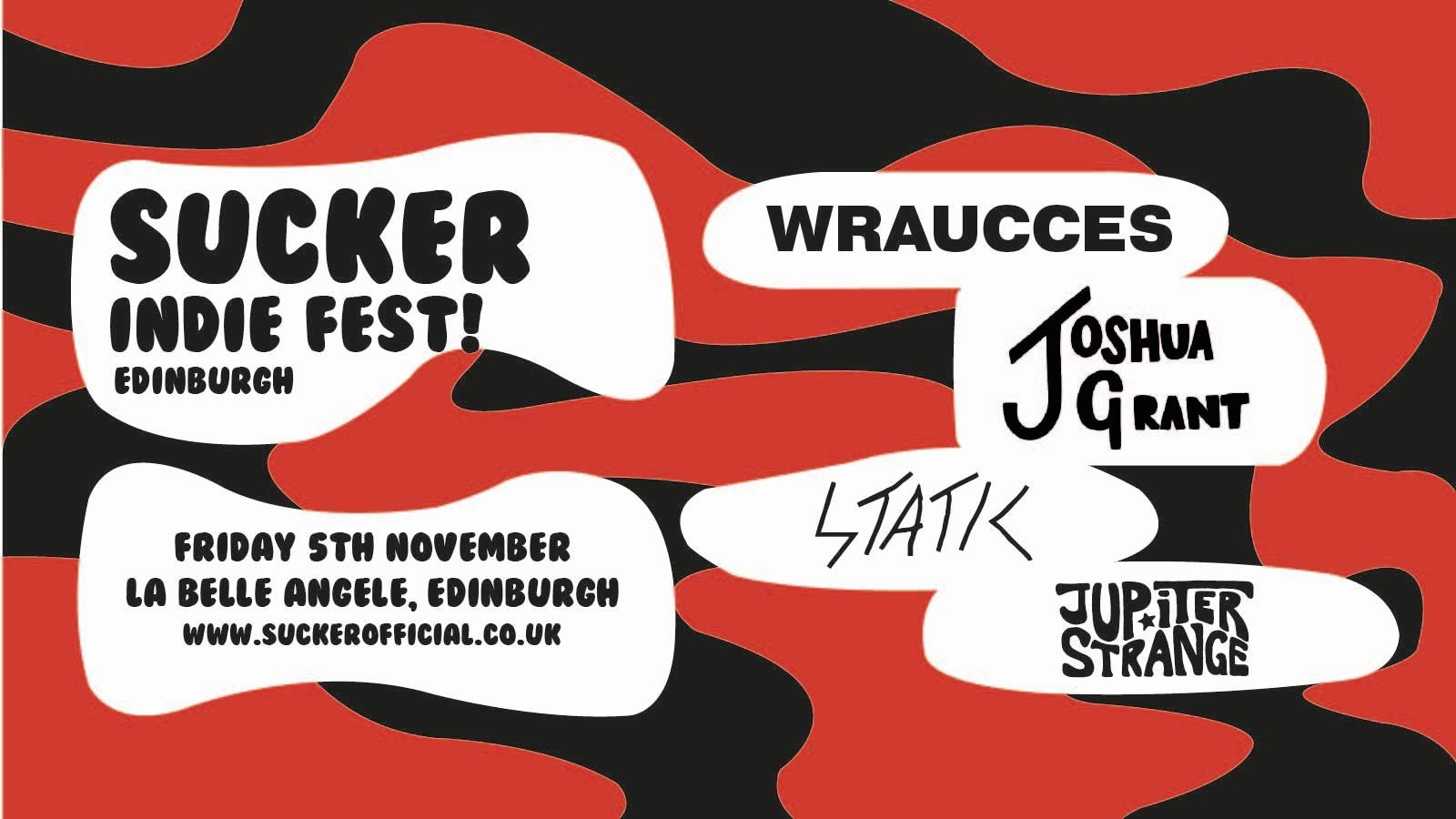 Edinburgh Indie Show: Wraucces + Joshua Grant + Static + Jupiter Strange