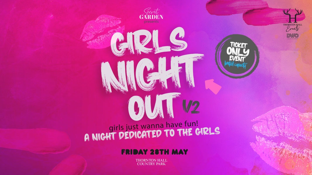 Secret Garden Girls Night Out ft Tribute to Olly Murs