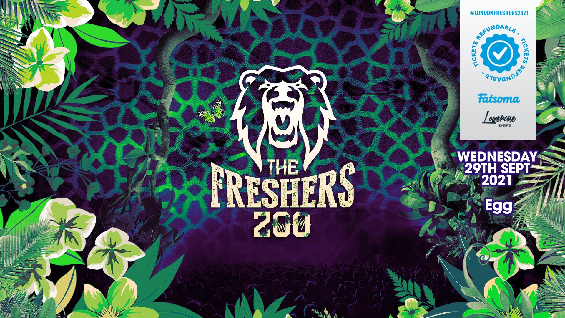 THE 2021 FRESHERS ZOO AT FABRIC! // FRESHERS WEEK 2 DAY 4
