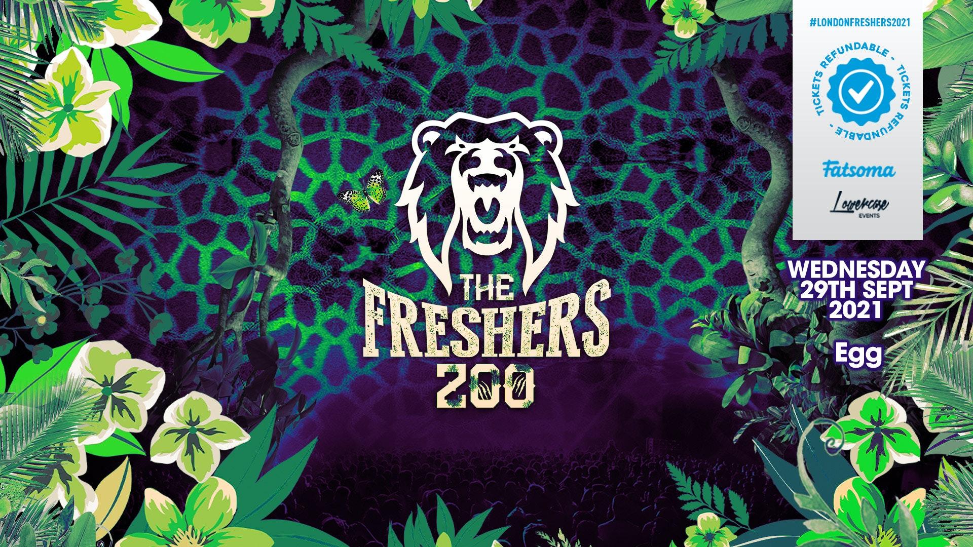 THE 2021 FRESHERS ZOO AT EGG LONDON! // FRESHERS WEEK 2 DAY 4