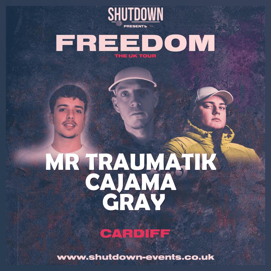 Shutdown – Freedom Tour – Cardiff