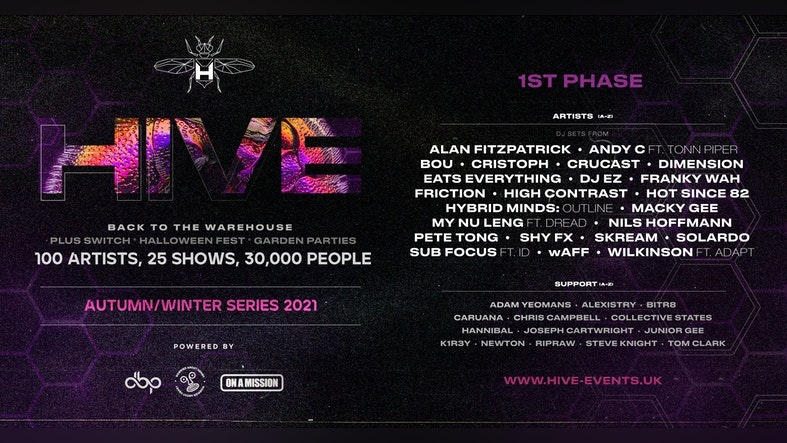 HIVE Phase 1   On sale now!