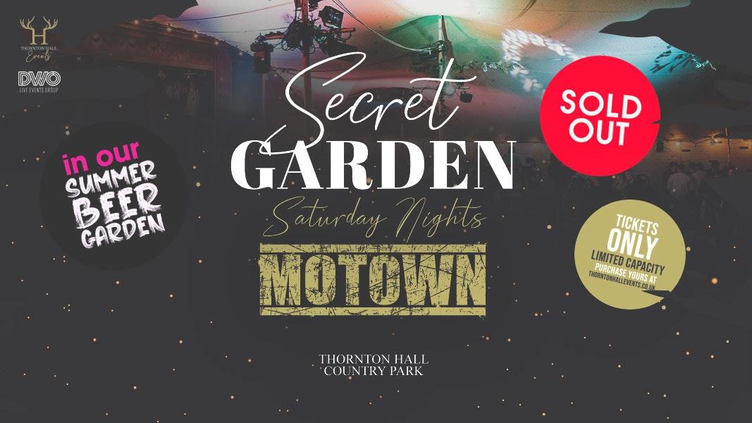 Secret Garden Motown Night