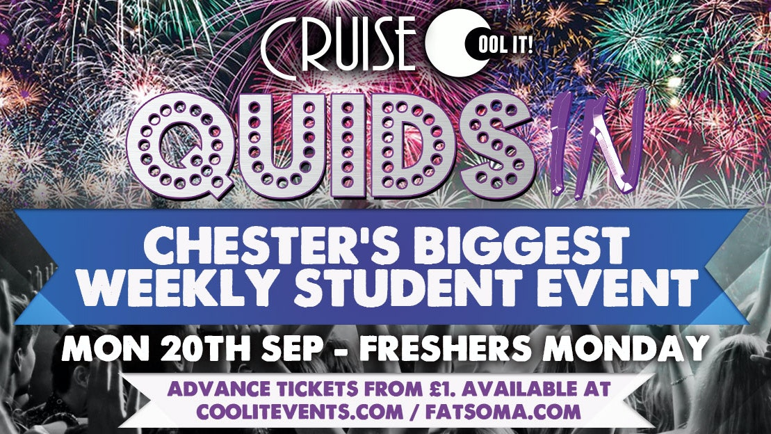 Quids In Mondays – The Freshers Welcome Party