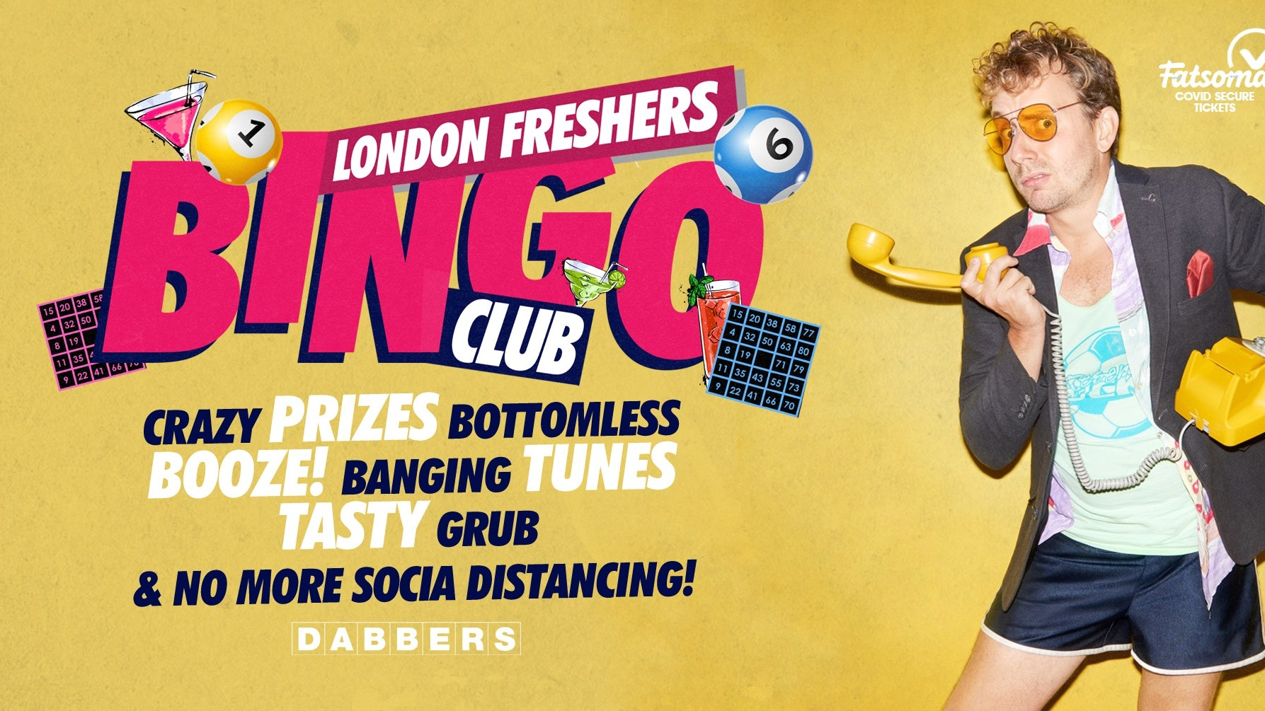 The London Freshers Bingo Club 🎱Official Boozy Launch 🎉 Tickets Out Now!