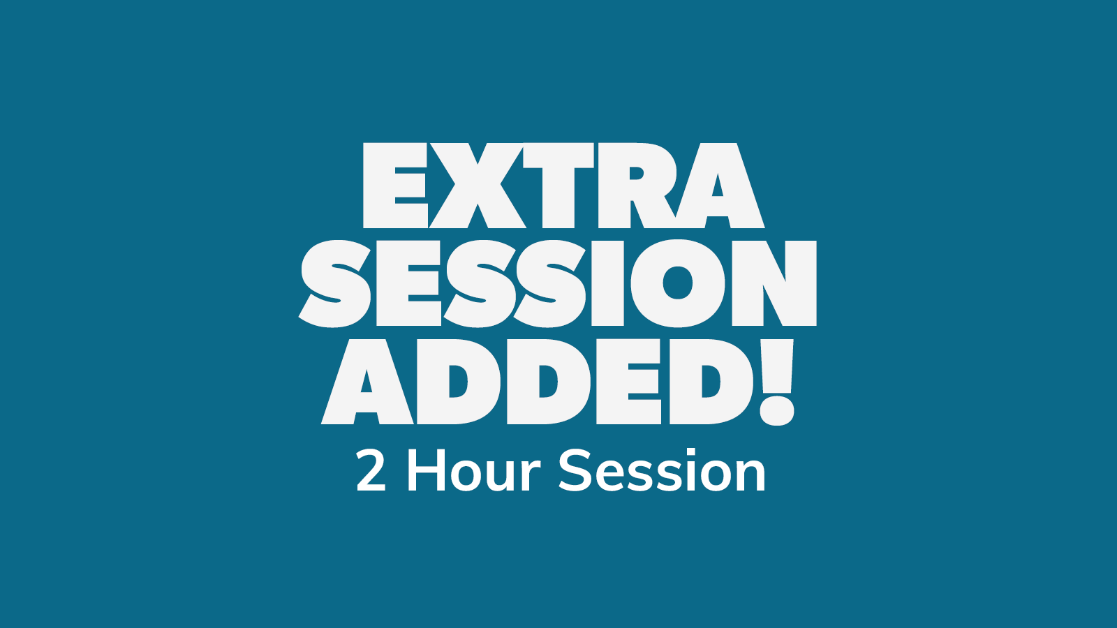 Chow Down: Thursday 24th June 2021 – 2 HOUR SESSION