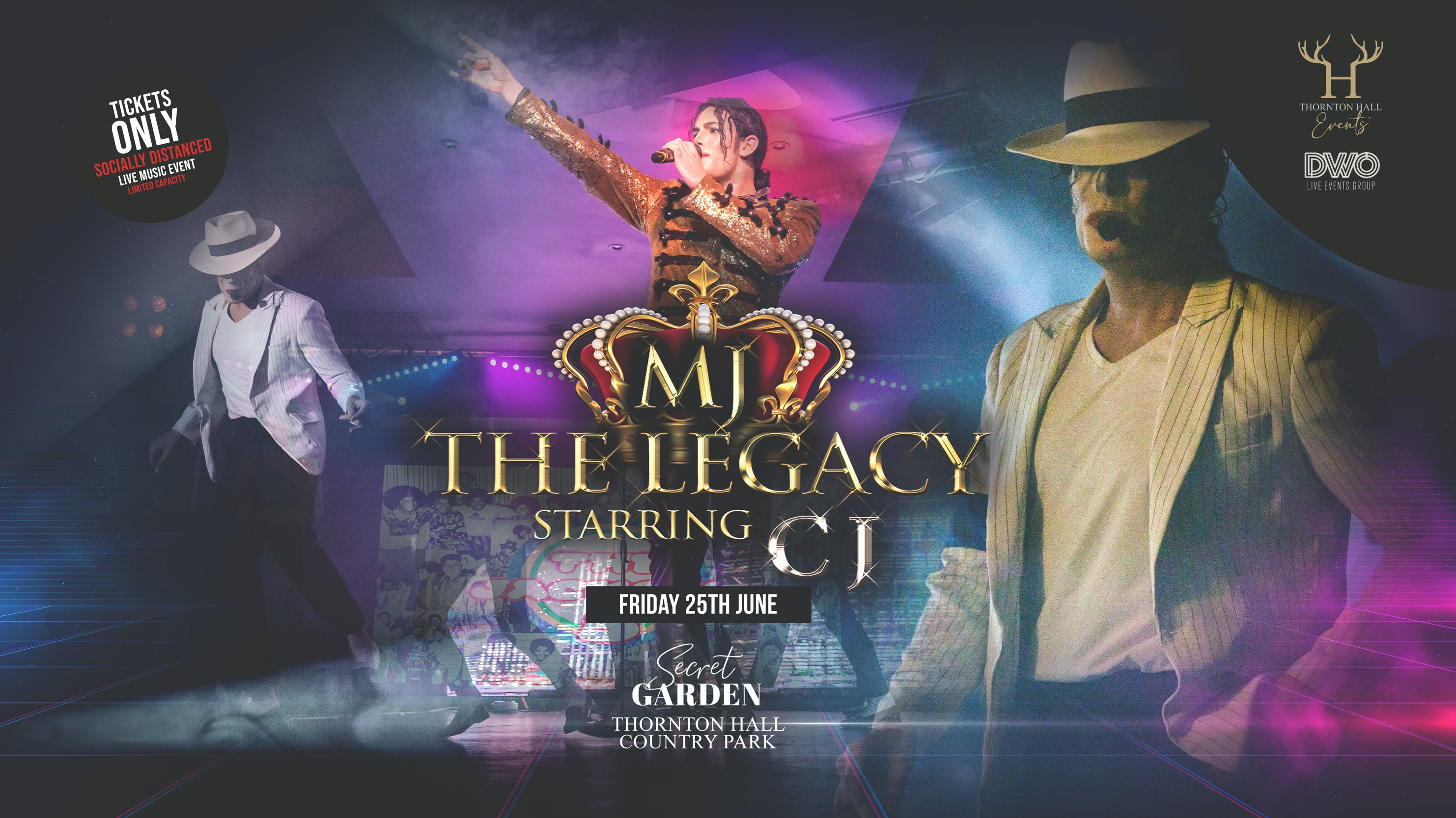 Secret Garden – MJ The Legacy   starring CJ