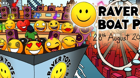 Raver Tots Summer Boat Party London