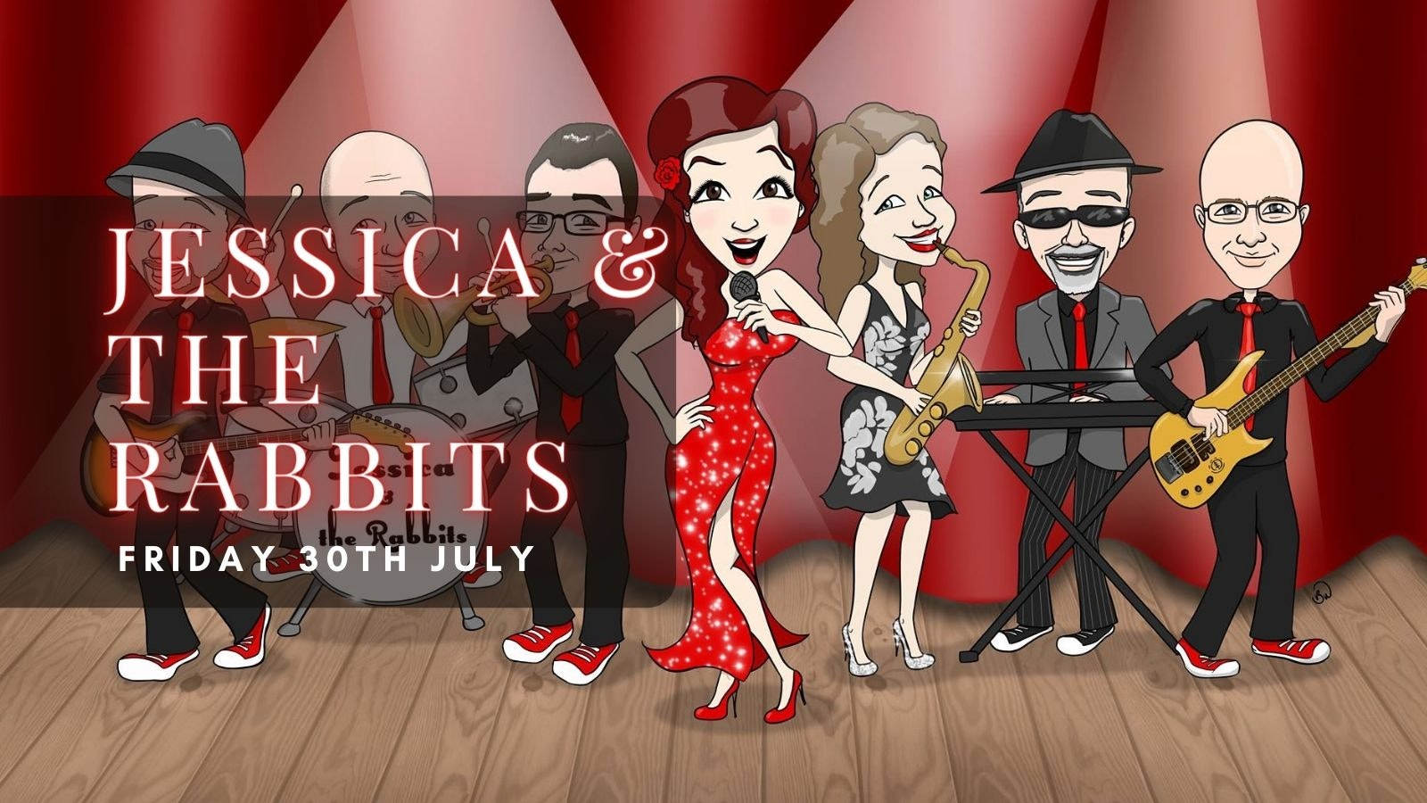 JESSICA AND THE RABBITS | Plymouth, Annabel's Cabaret & Discotheque