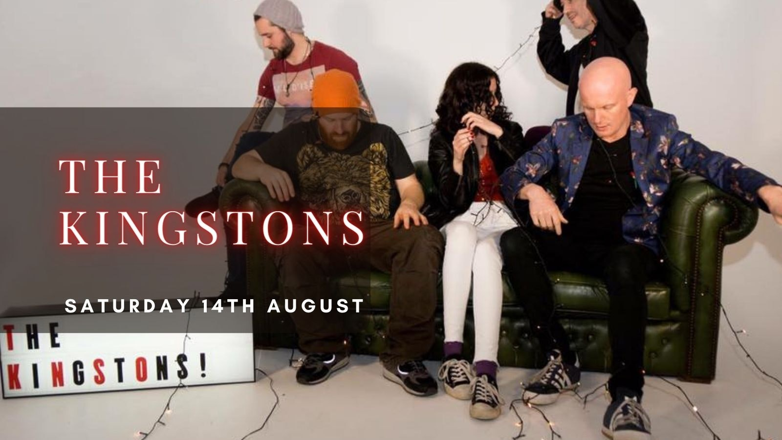 THE KINGSTONS | Plymouth, Annabel's Cabaret & Discotheque