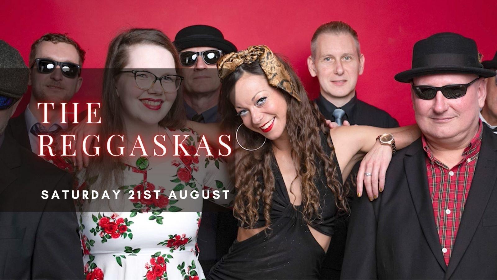 THE REGGASKAS   Plymouth, Annabel's Cabaret & Discotheque