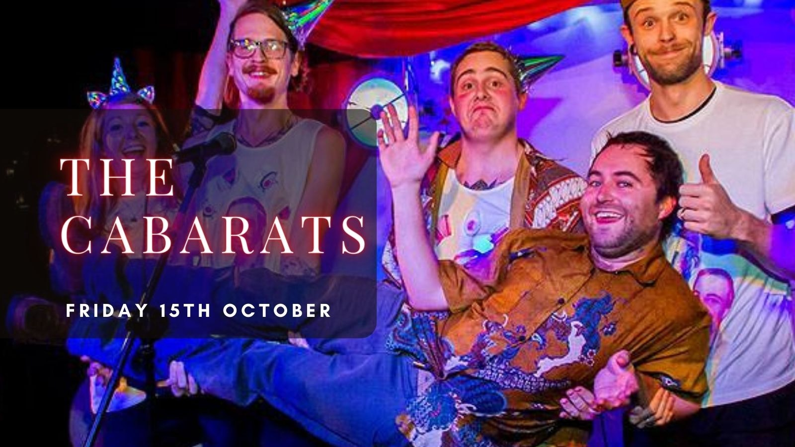 THE CABARATS | Plymouth, Annabel's Cabaret & Discotheque