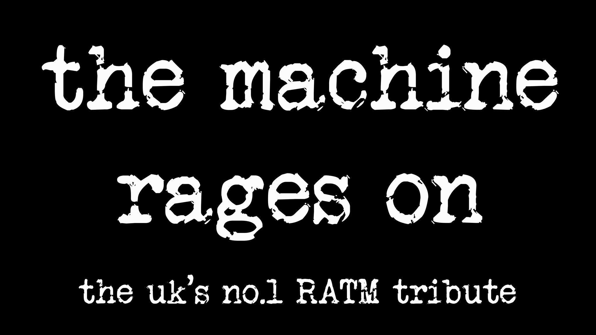 The Machine Rages On x Sunbird Records