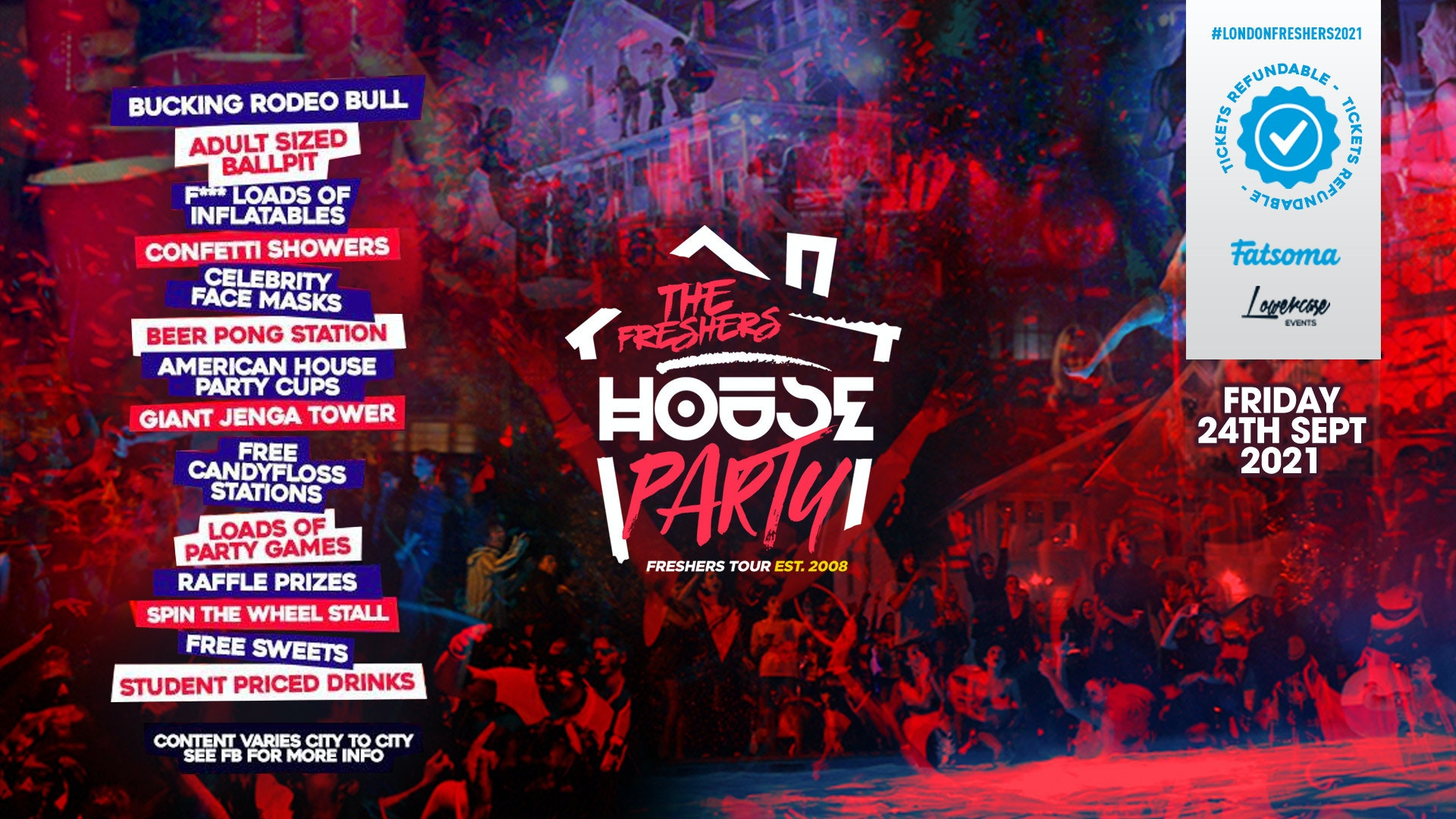THE 2021 PROJECT X HOUSE PARTY AT STUDIO 338! // FRESHERS WEEK 1 DAY 6