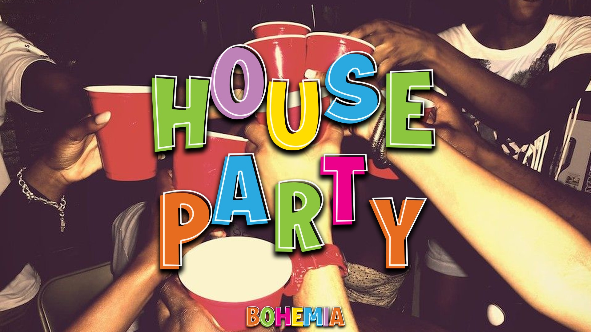 HOUSE PARTY   THURSDAYS   THE LANE (PERDU ALLEY ENTRY)   29th JULY