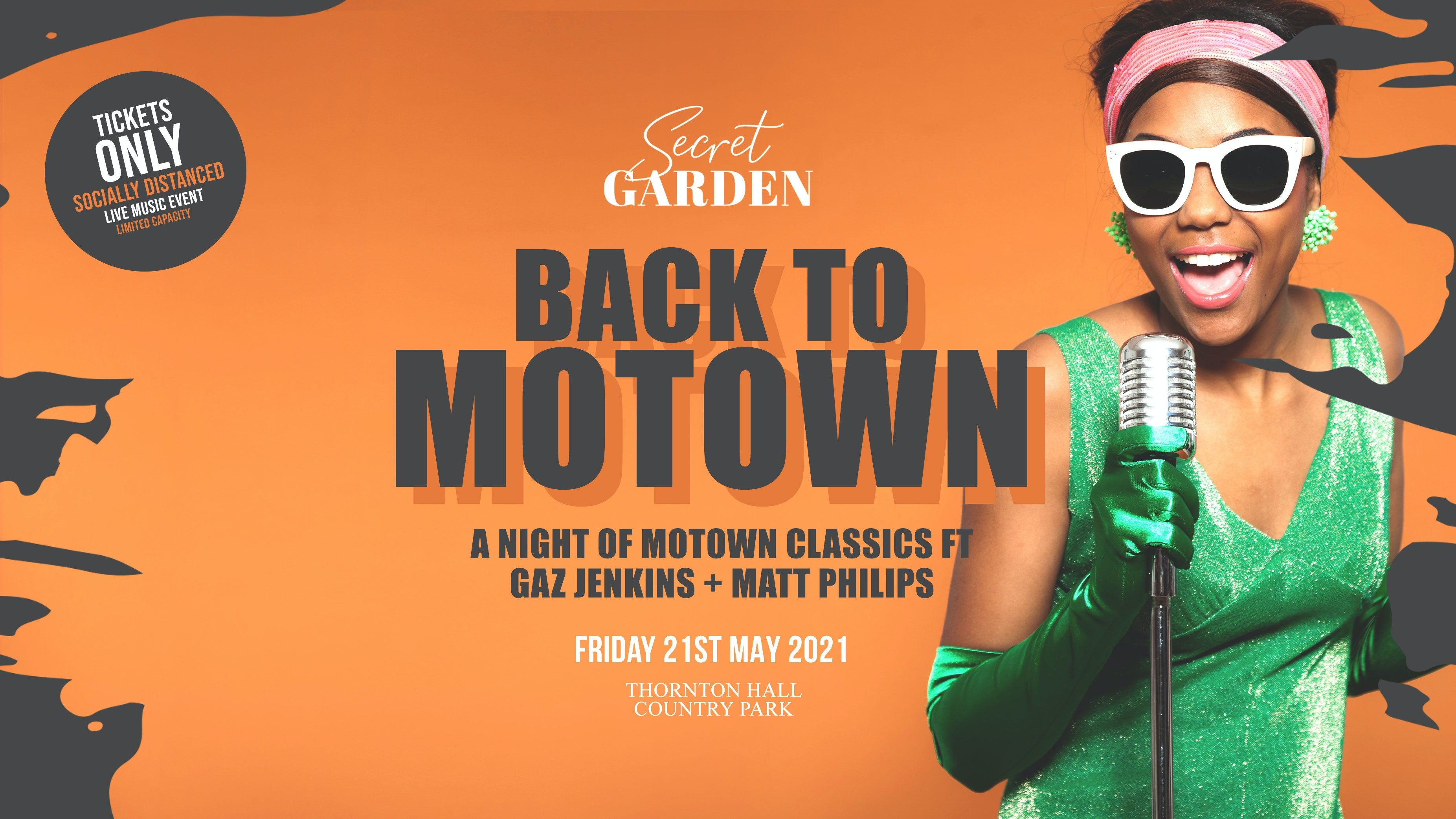 Secret Garden Back 2 Motown ft Gaz Jenkins & Matt Philips
