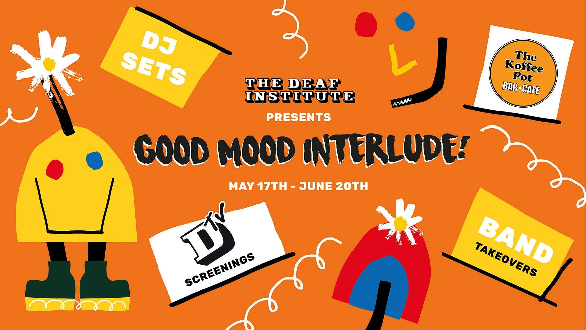 Good Mood Interlude : Presents DTV – The Mighty Boosh Screening