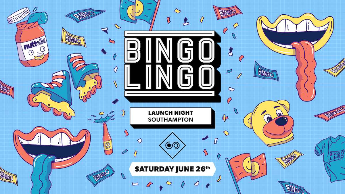 BINGO LINGO – Southampton – BINGO IS BACK – June 26th