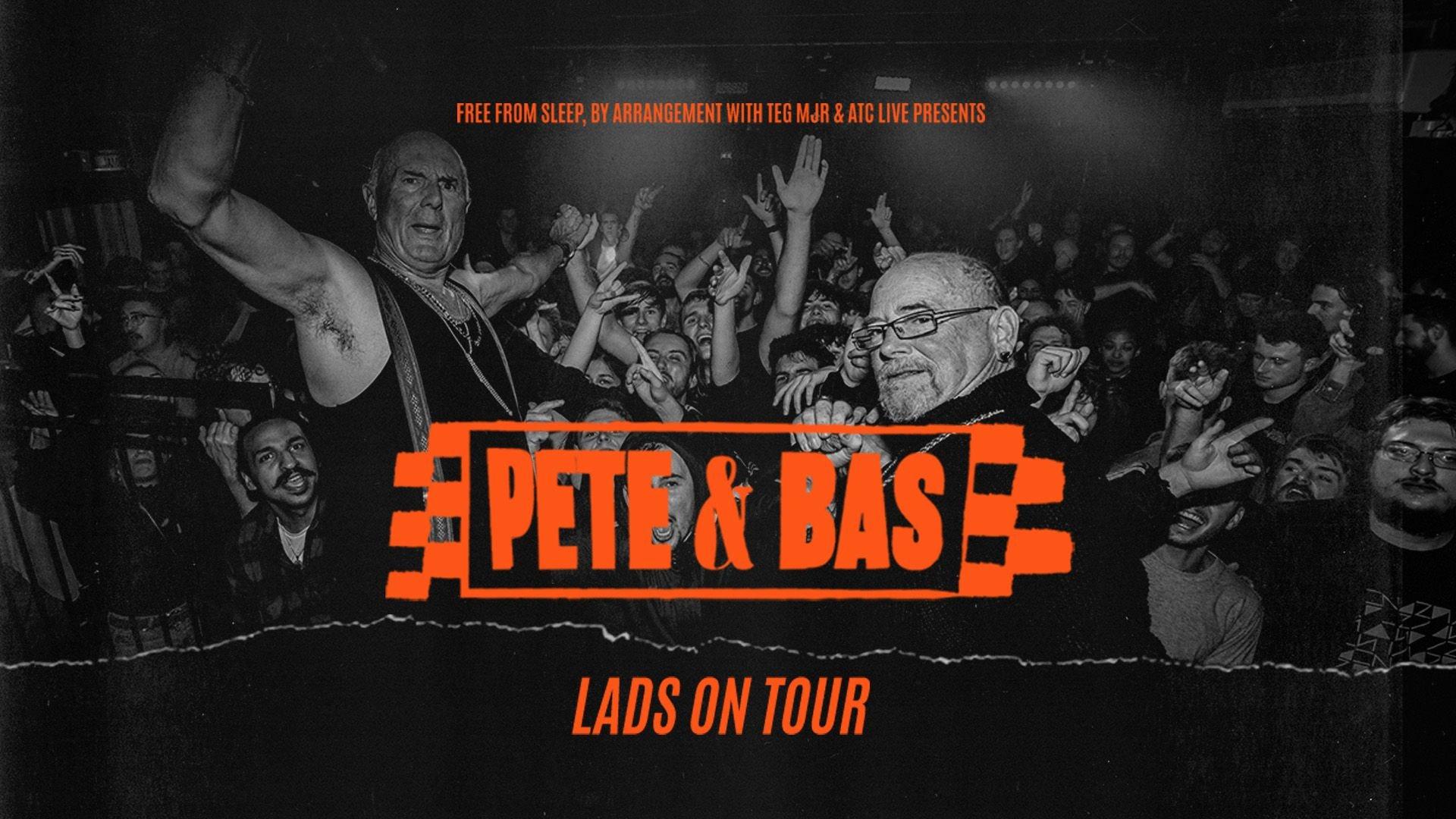 Pete & Bas – Live