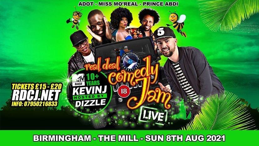 Real Deal Comedy Jam – SummerFest 2021