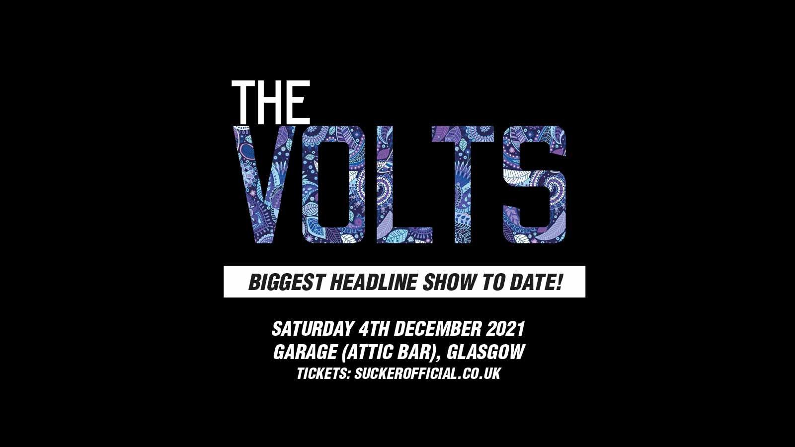 The Volts at Garage Attic Bar, Glasgow