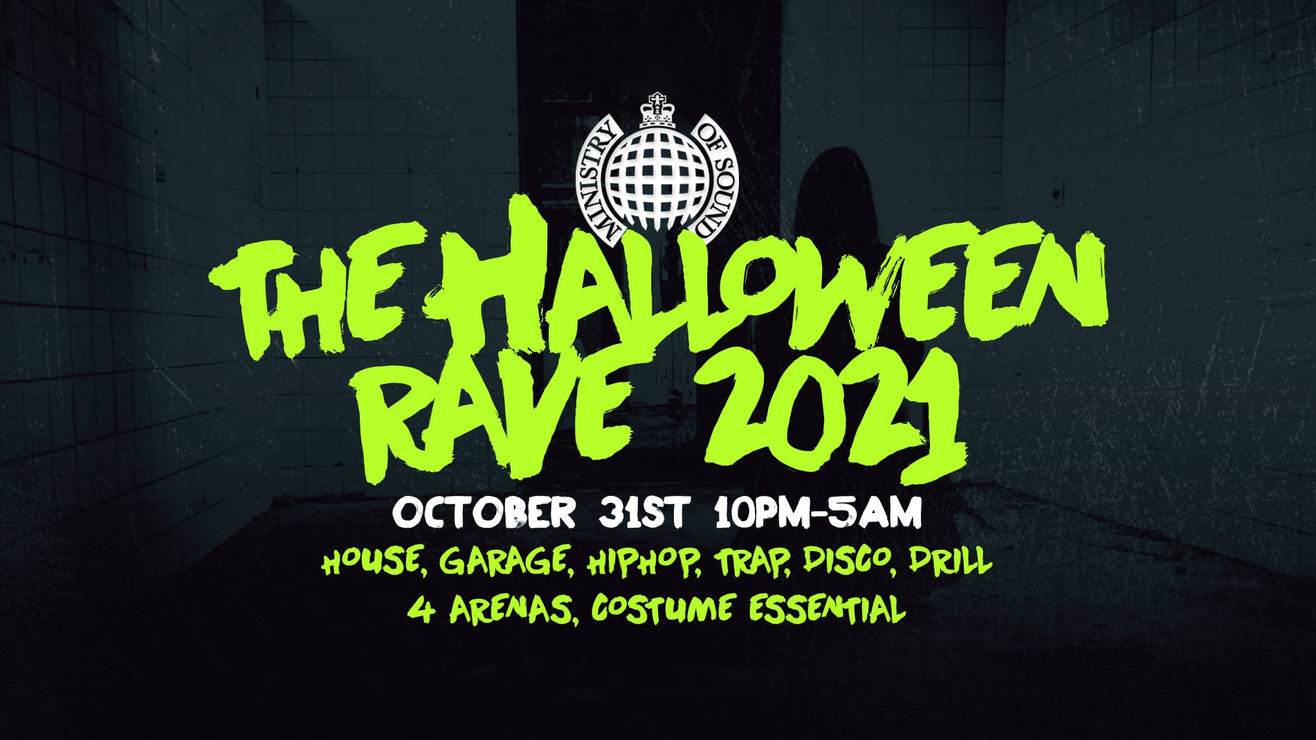 The Halloween Rave 2021  |  Ministry of Sound 👻