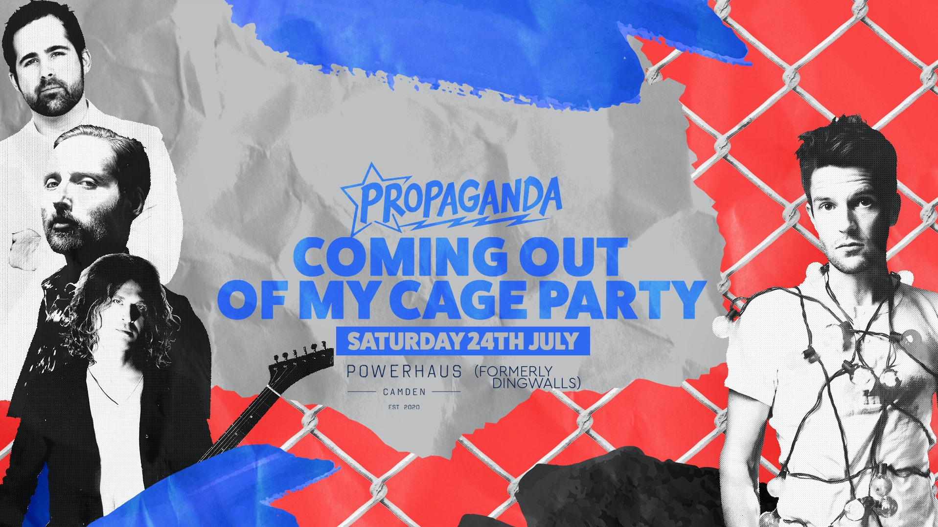 Propaganda. – Coming Out Of My Cage Party!