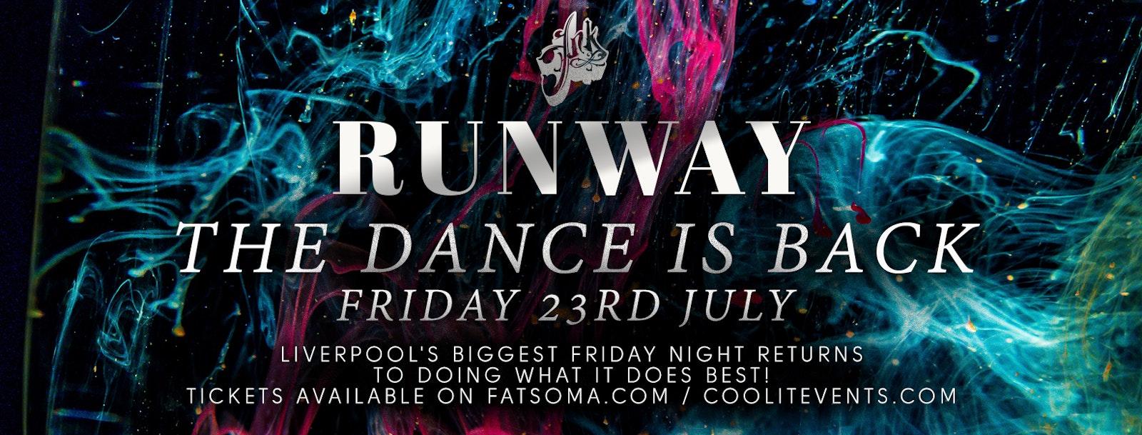 Runway Fridays Full Reopening Party