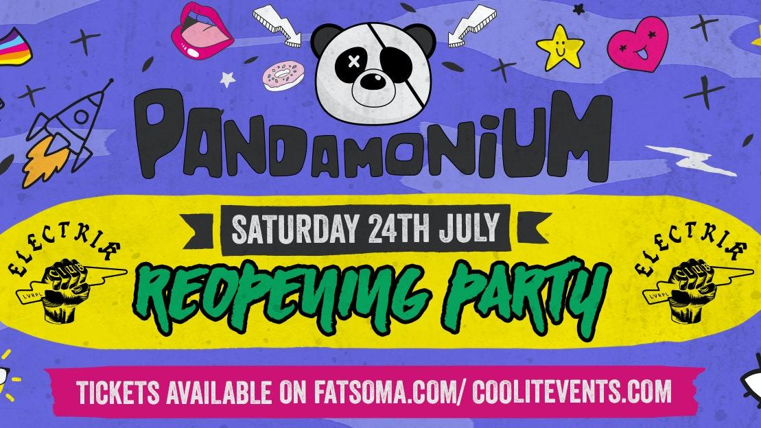 Pandamonium Saturdays Reopening Party