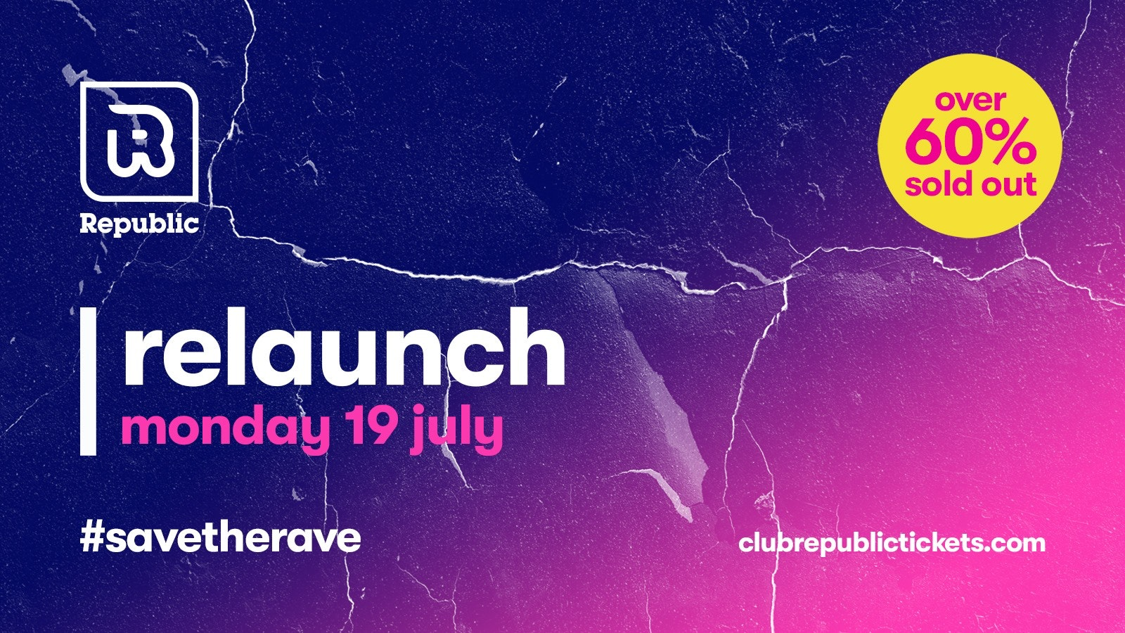 WE ARE BACK – Monday 22nd July