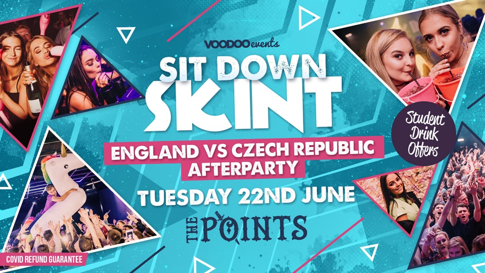 Sit Down Skint – The Points England vs Czech Republic Afterparty