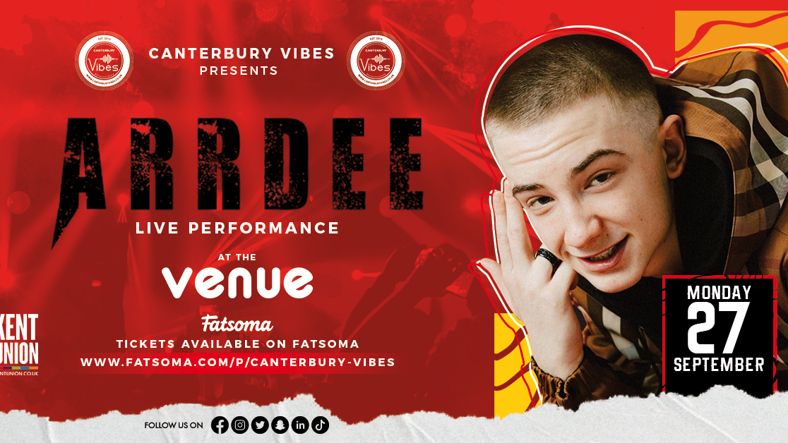ARRDEE Live PA at The Venue Canterbury