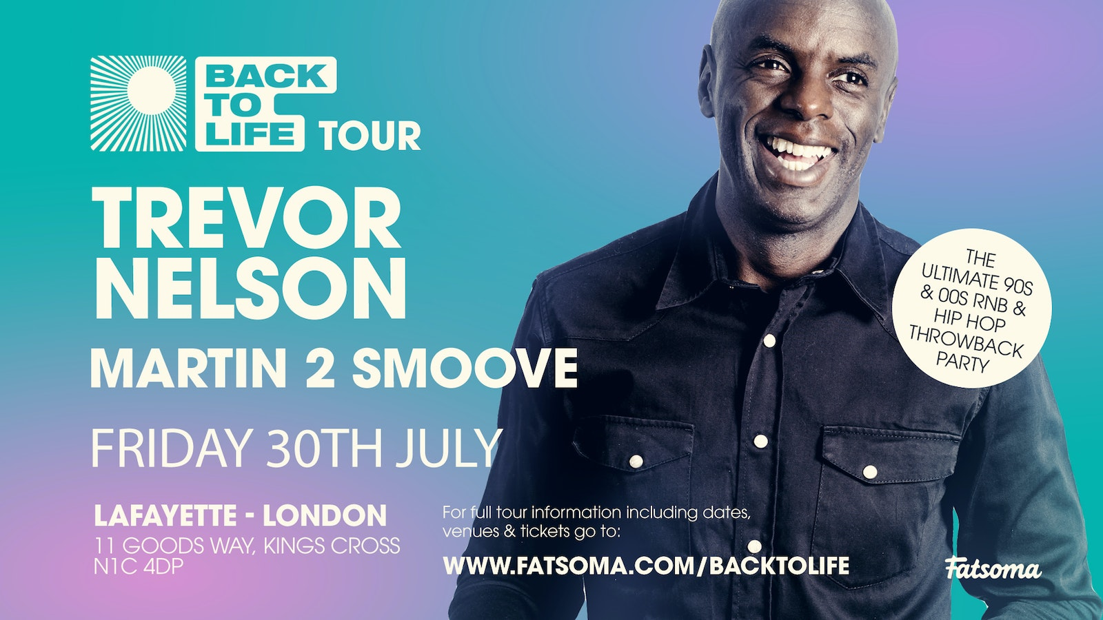 Trevor Nelson's END OF LOCKDOWN 90s & 00s RNB & Hip Hop Throwback Party!