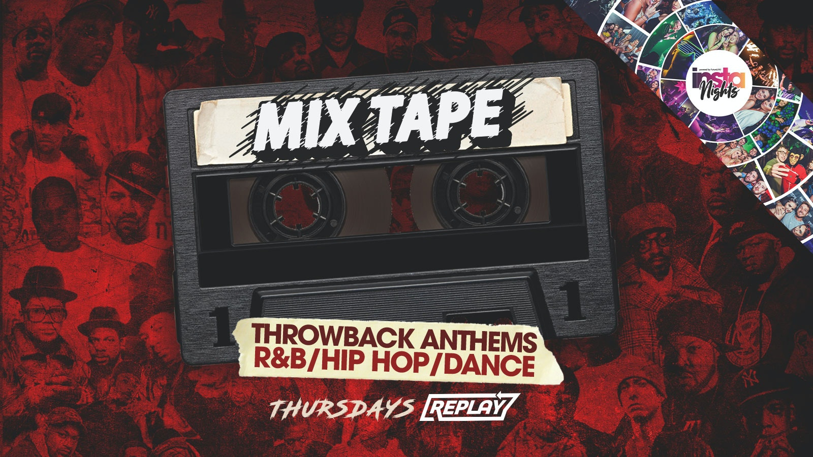 MixTape   Thursday  17th June   Table Bookings / Entry