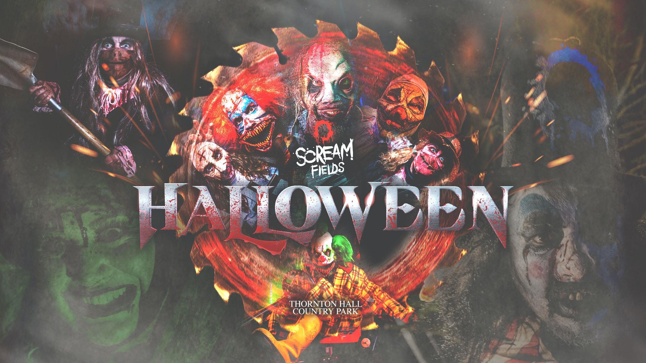Scream Fields Fear Park Entry Ticket – Saturday 30th October