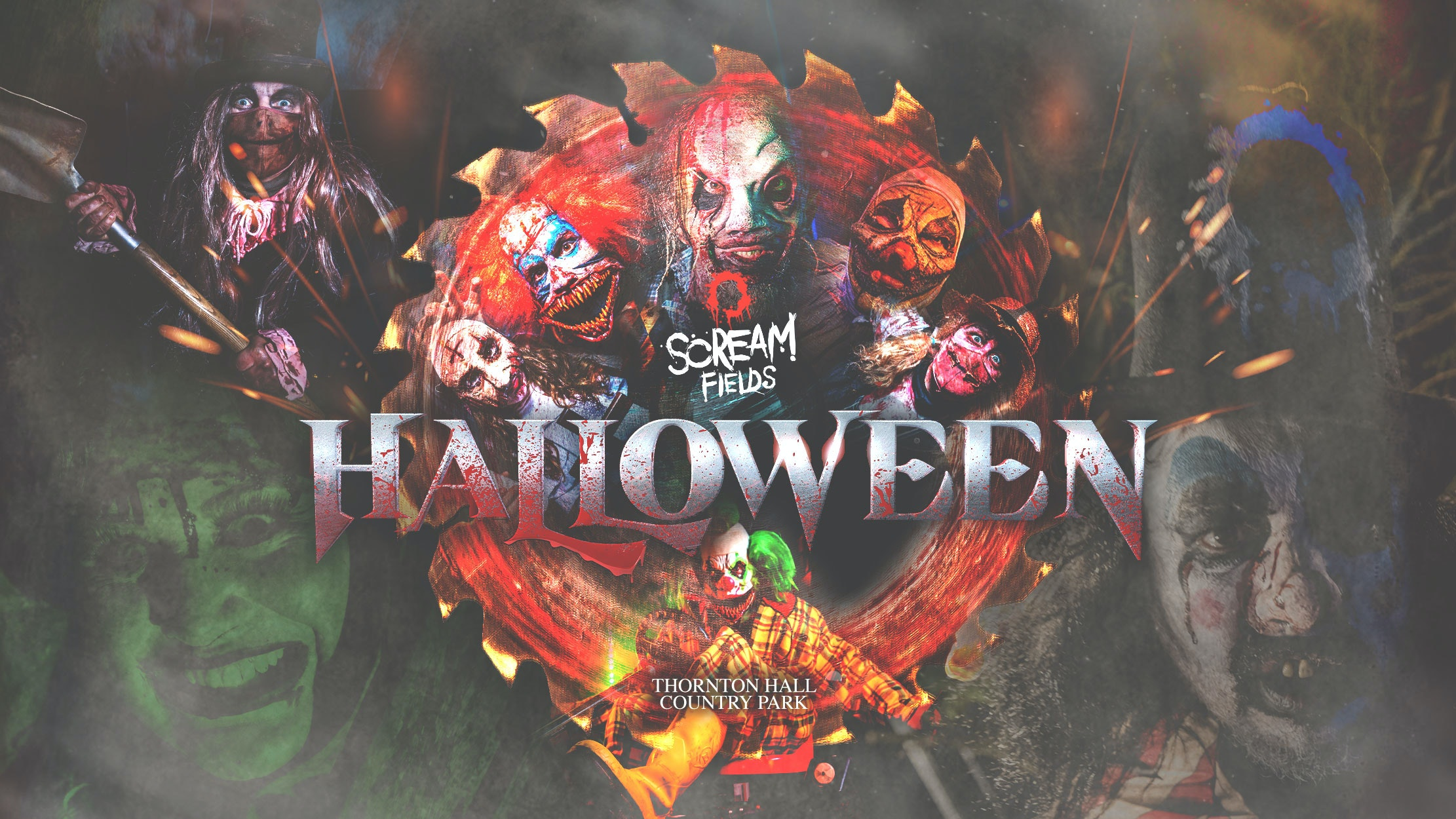 Scream Fields Fear Park Entry Ticket – Friday 8th October