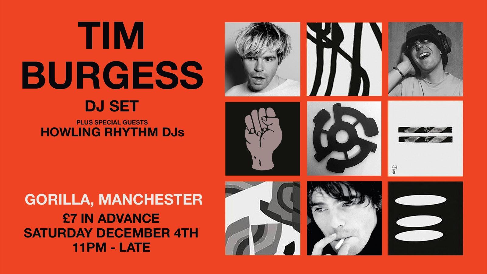 Tim Burgess DJ set