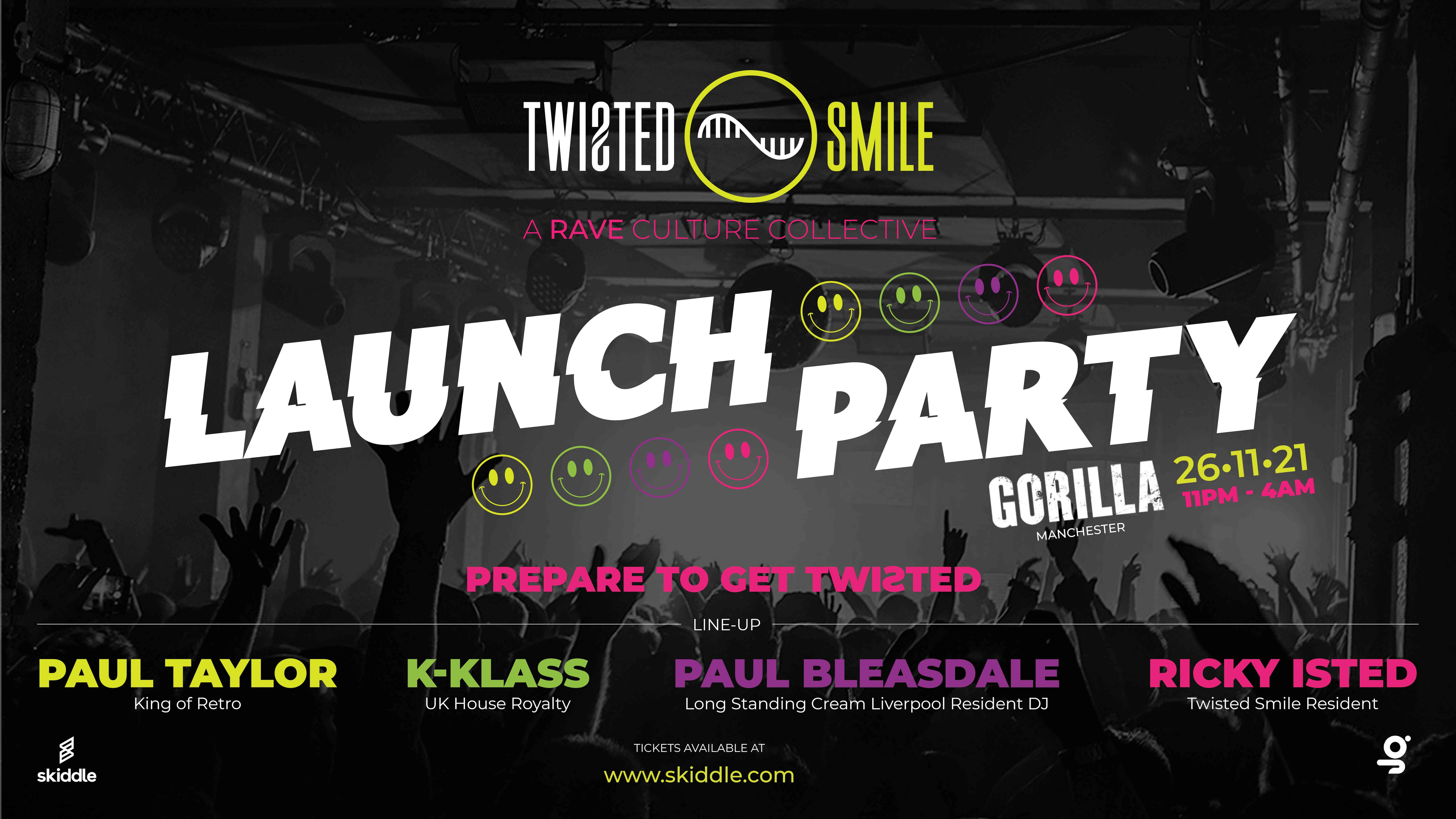 TWISTED SMILE LAUNCH PARTY