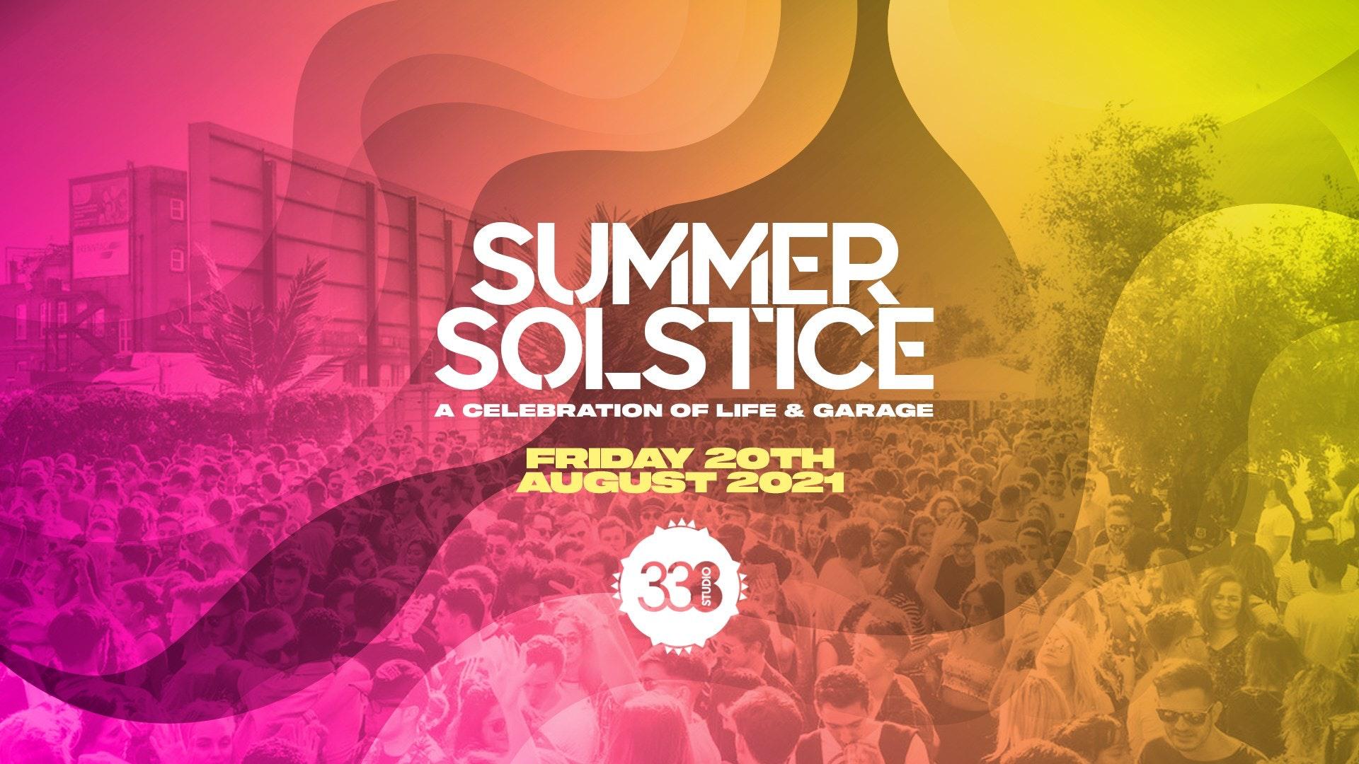 Summer Indoor Garage Festival – London [FINAL TICKETS]