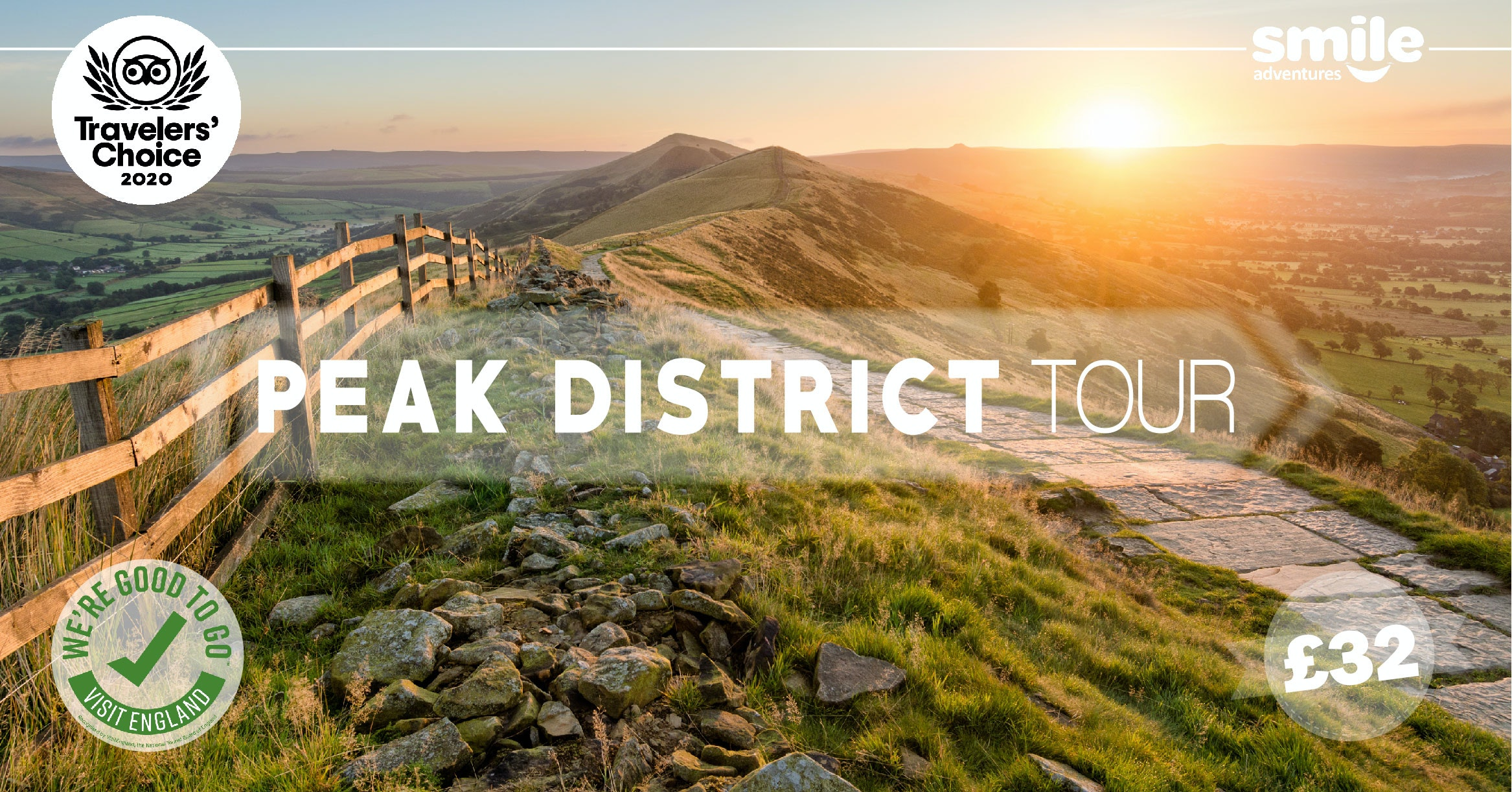 Peak District Tour – From Manchester
