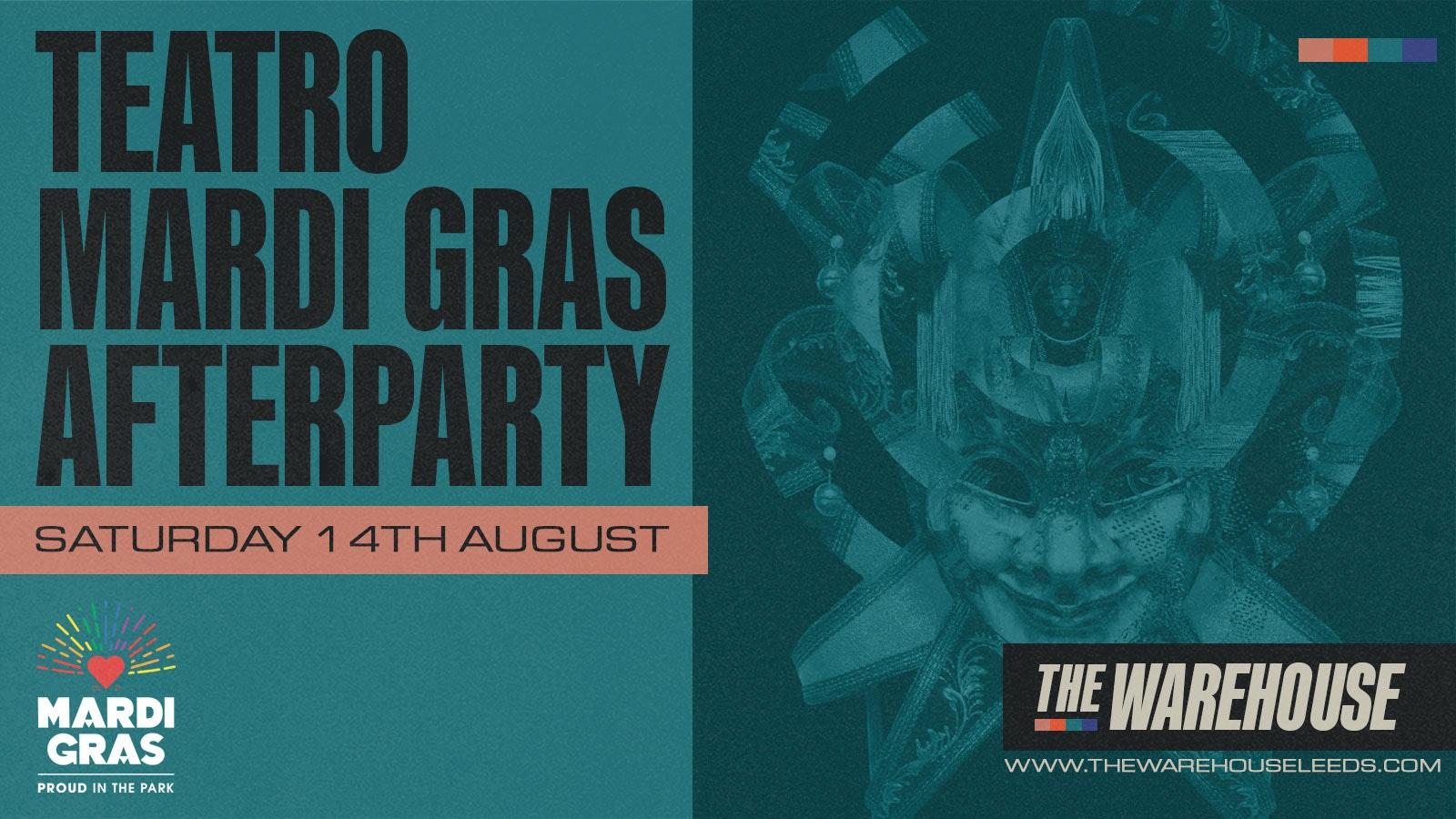 Teatro presents Mardi Gras Festival Afterparty – Club