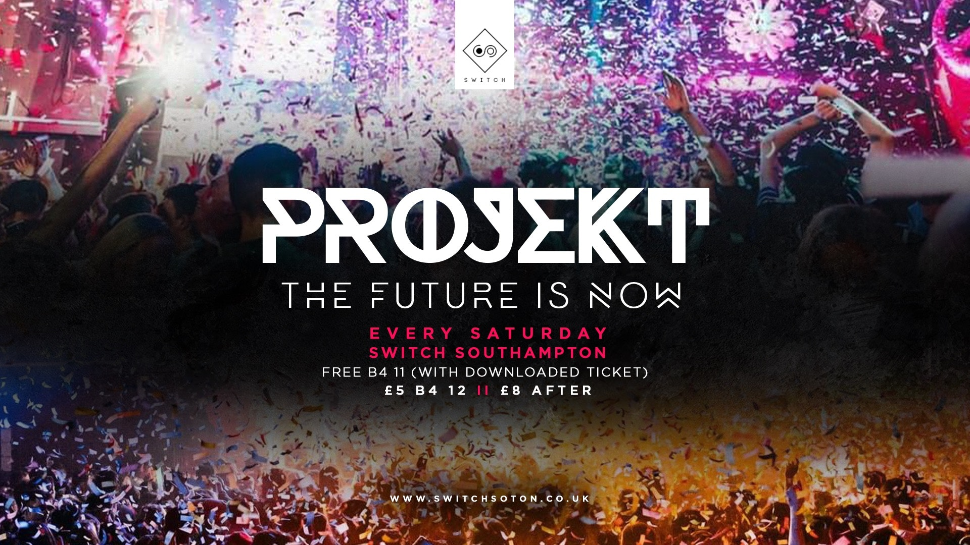 Projekt Saturdays Launch Party • Saturday 26th June
