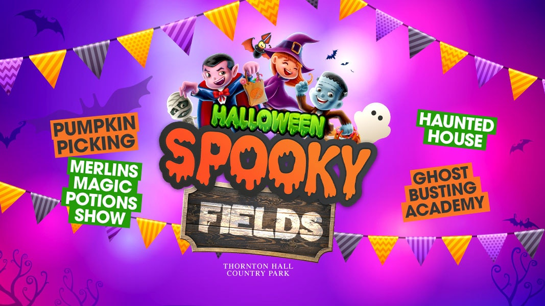 Spooky Fields (including Farm Park Entry) – Wednesday 27th October – All Day Ticket