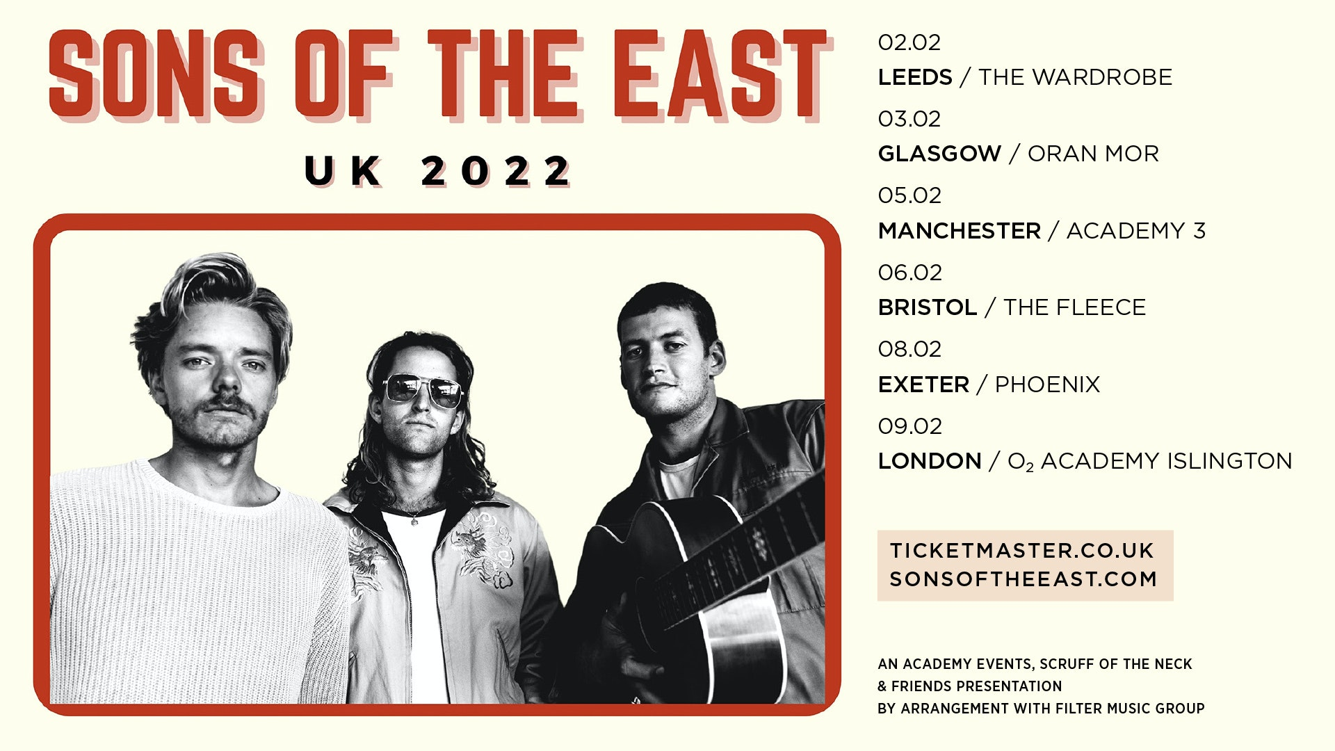 Sons Of The East | Manchester, Academy 3