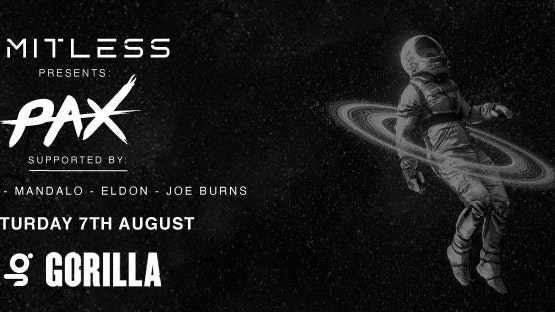 Limitless Presents PAX + Matt Jenks + Mandalo + Eldon + Joe Burns