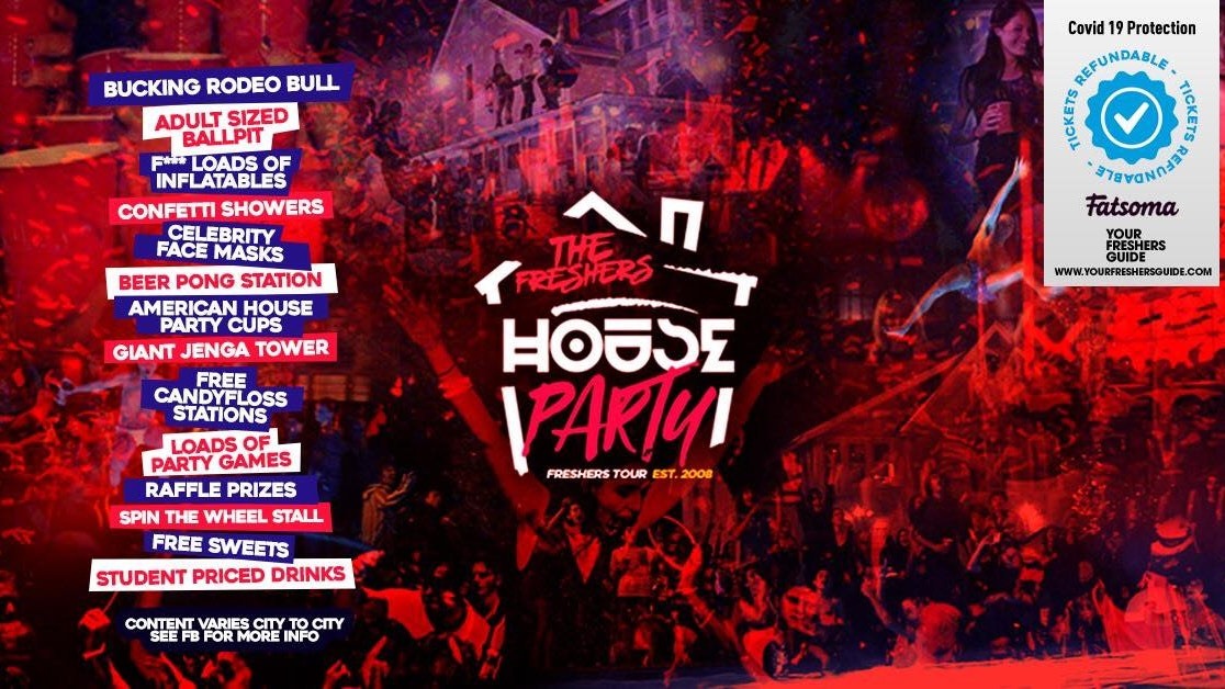 The Freshers House Party   Derby Freshers 2021