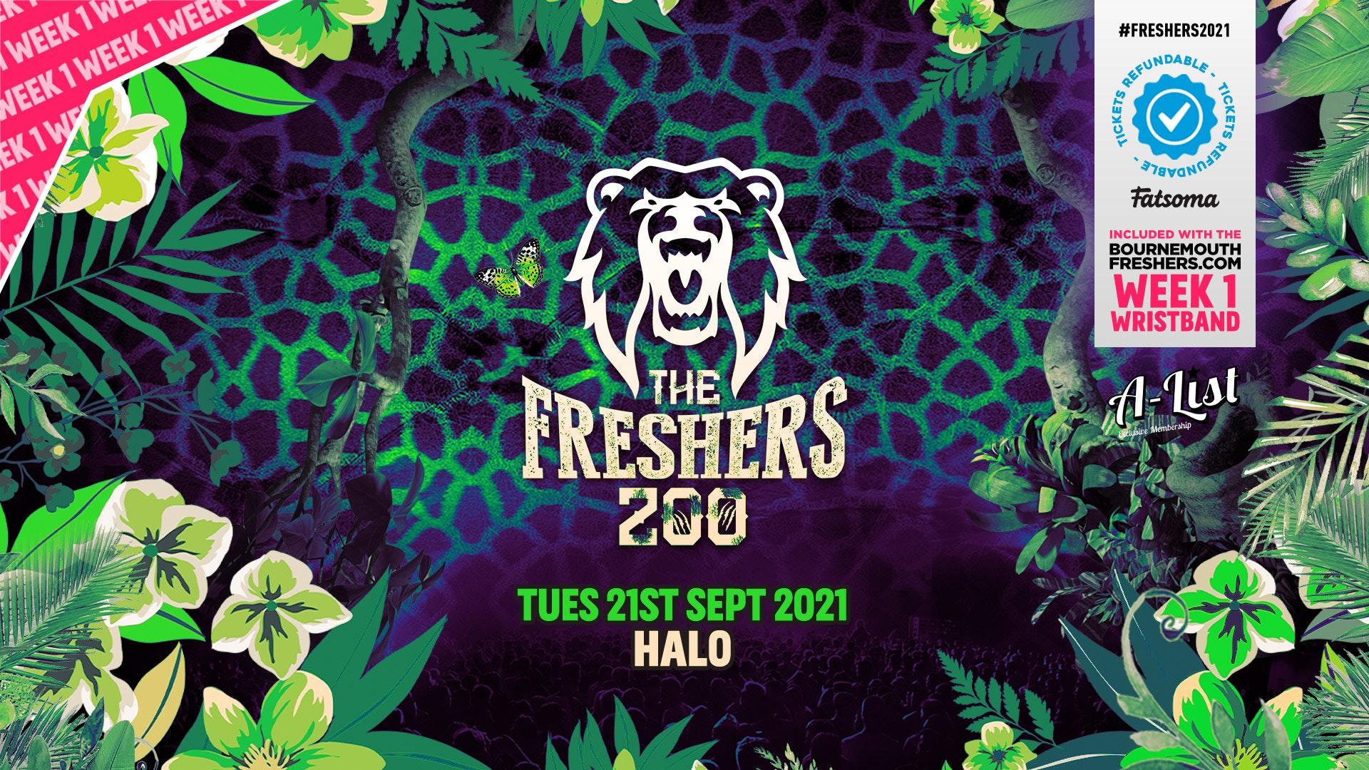 The Freshers Zoo @ Halo Bournemouth | Bournemouth Freshers 2021 [Week 1 Freshers Event]